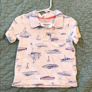 Carter's boat shirt